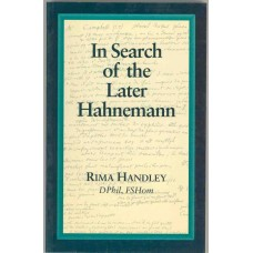 In Search of the Later Hahnemann