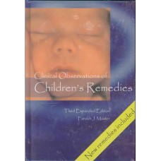 Clinical Observations of Children's Remedies (Excellent Secondhand Hardback)