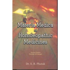 Materia Medica of Homoeopathic Medicines (Phatak)