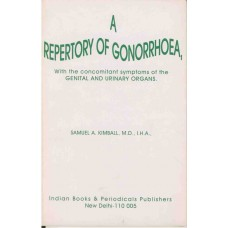 A Repertory of Gonorrhoea