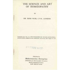 The Science and Art of Homoeopathy