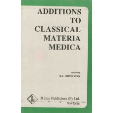 Additions to Classical Materia Medica
