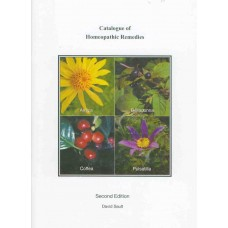 Catalogue of Homeopathic Remedies