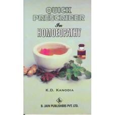 Quick Prescriber in Homoeopathy