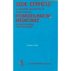 Side Effects & Adverse Symptoms of Homoeopathic Medicines in The