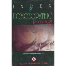 Index to Homoeopathic Provings