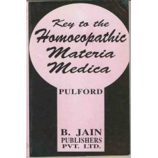 Key to the Homoeopathic Materia Medica
