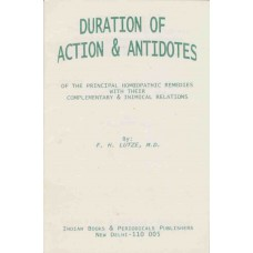 Duration of Action and Antidotes