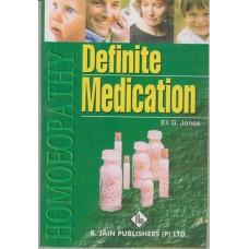 Definite Medication