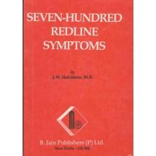 Seven Hundred Redline Symptoms