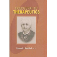 Homoeopathic Therapeutics