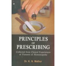 Principles of Prescribing