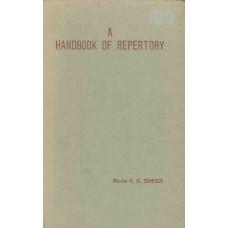 A Handbook of Repertory