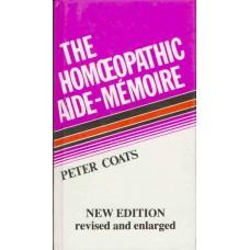 Homeopathic Aide-Memoire