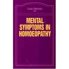 Mental Symptoms in Homoeopathy