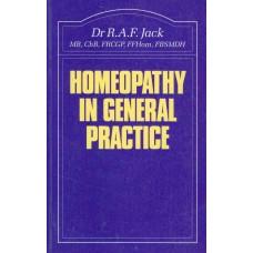 Homoeopathy in General Practice