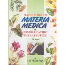 Handbook of Materia Medica and Homoeopathic Therapeutics