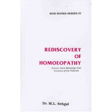 Rediscovery of Homoeopathy Vol 4