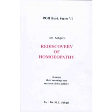 Rediscovery of Homoeopathy Vol 6