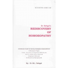 Rediscovery of Homoeopathy Vol 8