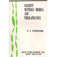 Salient Materia Medica and Therapeutics