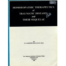 Homoeopathic Therapeutics of Traumatic Diseases and their Sequelae