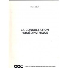 La Consultation Homeopathique