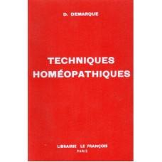 Techniques Homeopathiques