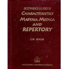 Boger Boenninghausen's Characteristics and Repertory