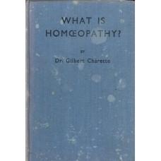 What is Homoeopathy? 1935 hardback.