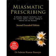 Miasmatic Prescribing (Paperback)