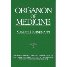 Organon of Medicine (Jost Kunzli Translation)