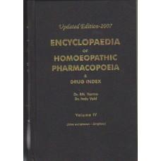 Encyclopaedia of Homoeopathic Pharmacopoeia - 4 Volumes